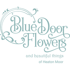 Blue Door Flowers Heaton Moor