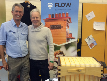 BuzzBalm with flow hive founder